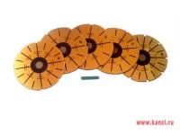 Набор магнитных шаблонов для разметки лепестков