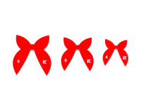 Набор хвостиков для бантиков №3 (3 шт)