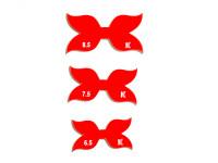 Набор хвостиков для бантиков №1 ( 3 шт)