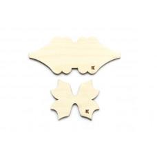Шаблон для бантиков №1 (деревянный)