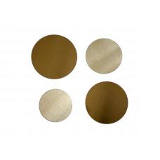 Набор больших металлических кругов