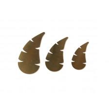 Набор шаблонов для листиков (3 шт)